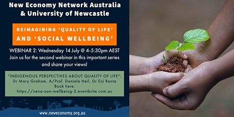 Re-imagining 'Quality of Life' and Social Wellbeing' in Australia tickets
