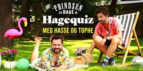 Hagequiz med Hasse og Tophe // 11.08 tickets