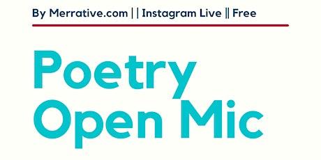 Poetry Open Mic - by Merrative.com tickets