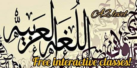 FREE ARABIC CLASS for A2 level tickets