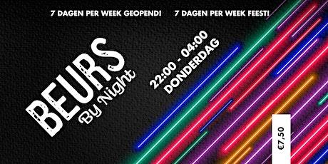 Donderdag @ De Beurs ! tickets