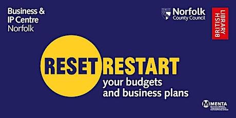 Reset. Restart: Workshop - Your Business Roadmap tickets