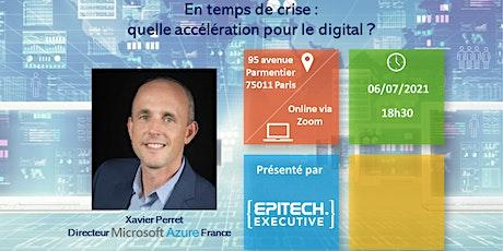 Executive Booster : Xavier Perret - Directeur de l'entité Azure billets