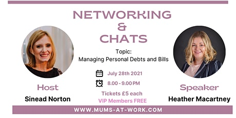 Networking & Chat with Heather Macartney tickets