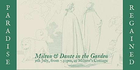 Paradise Regained: Milton & Dante in the Garden tickets