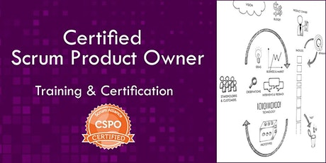 Certified Scrum Product Owner CSPO class  (Aug 3-4-5) tickets