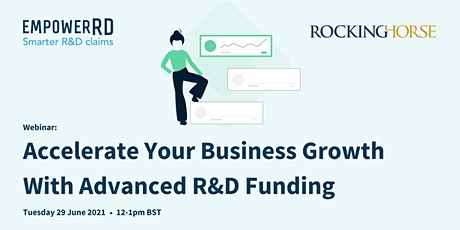 Accelerate Your Business Growth With Advanced R&D Funding tickets