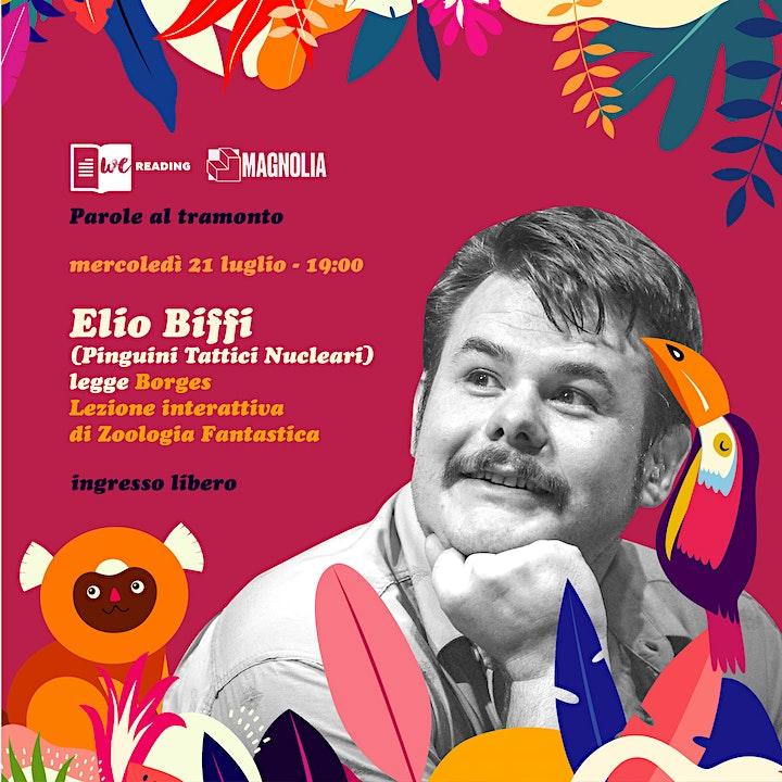 Immagine We Reading & Magnolia presentano ·Parole al tramonto con Elio Biffi