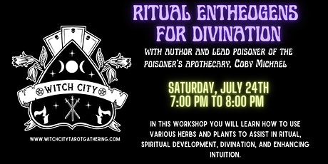 Ritual Entheogens and Divination tickets