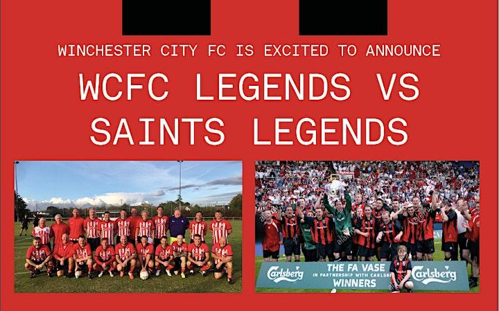 WCFC Legends vs Saints Legends Charity Game image
