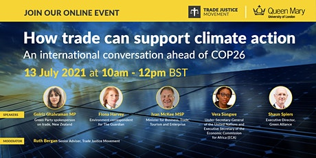 How trade can support climate action: an international conversation tickets