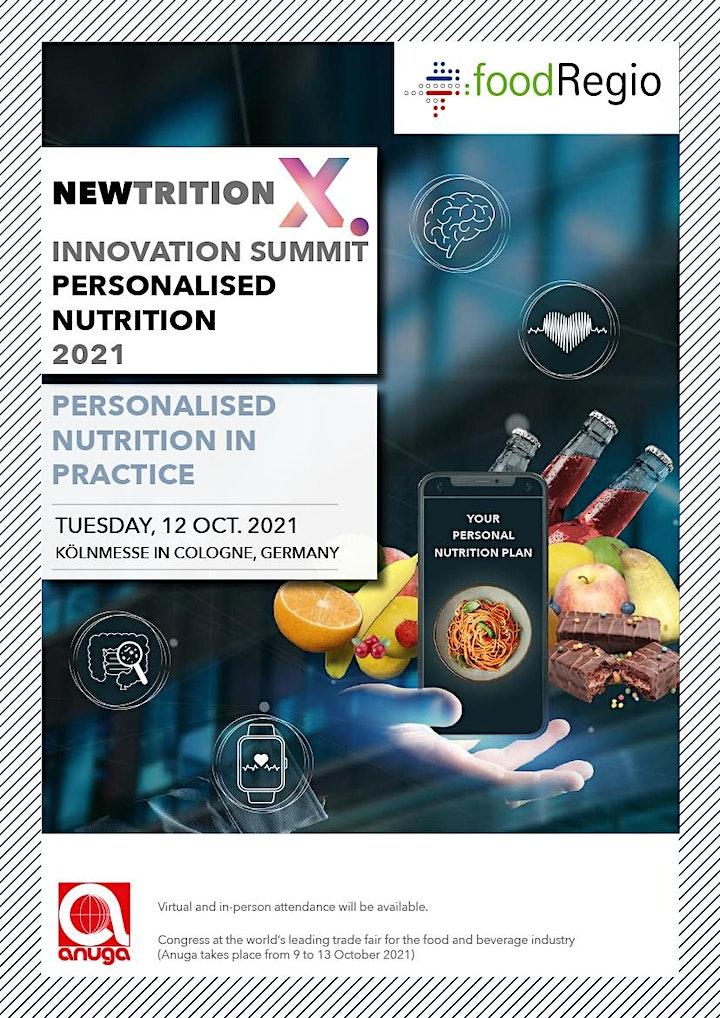 NEWTRITION X. - Innovation Summit Personalised Nutrition - 12 October 2021 image