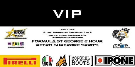 VIP  St George Motorcycle Club Endurance Series Round 1of 2 tickets