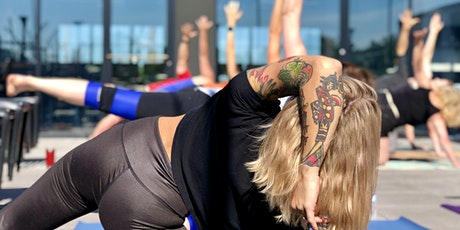 All-Levels Rooftop Yoga Class - [Bottoms Up! Yoga & Brew] tickets