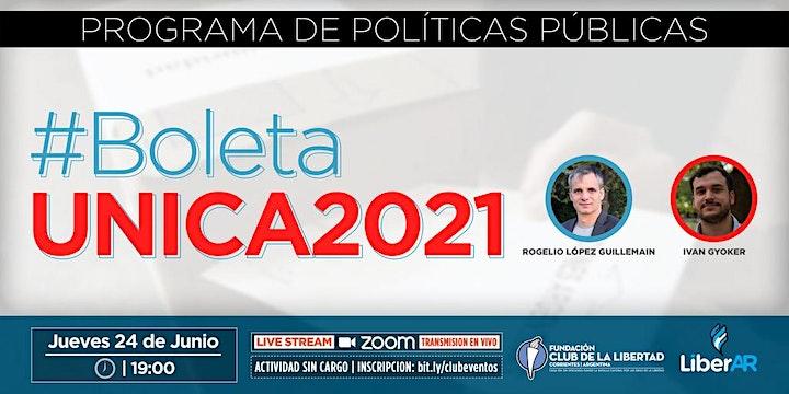 Imagen de CLUB DE LIBERTAD - EVENTOS COLABORATIVOS - BOLETA UNICA 2021
