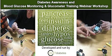 Diabetes Awareness & Blood Glucose Monitoring/Glucometer Training Workshop tickets