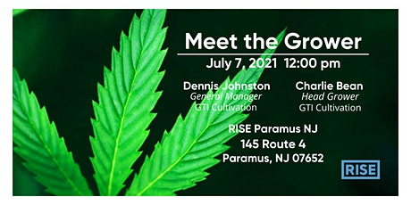 """""""Meet The Grower"""" - Cannabis and Cultivation101 tickets"""