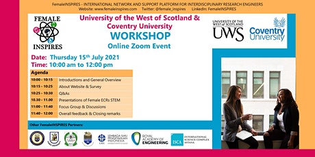 University of the West Of Scotland & Coventry University Workshop tickets