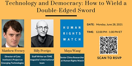Technology and Democracy: How to Wield a Double-Edged Sword tickets