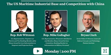 Virtual Event | The US Maritime Industrial Base and Competition with China tickets