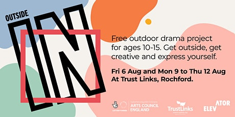Outside In  - A free summer outdoor drama project for young people tickets