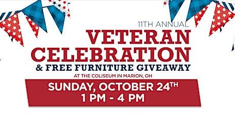 Ashley HomeStore's 11th Annual  Veteran's Celebration! tickets