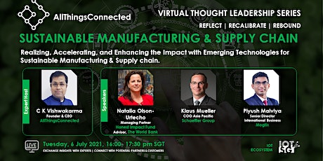 Sustainable Manufacturing  & Supply Chain tickets