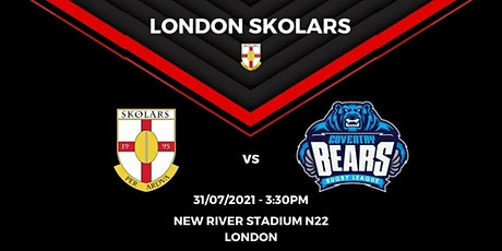 London Skolars vs Coventry Bears tickets