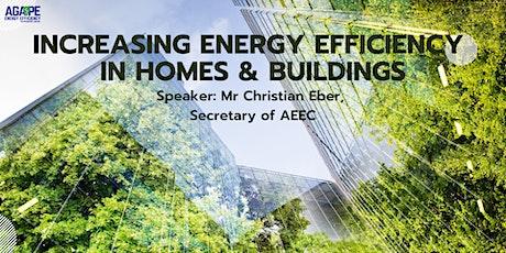 Increasing Energy Efficiency in Homes & Buildings tickets