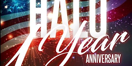 Halo Atlanta 1 year Anniversary tickets