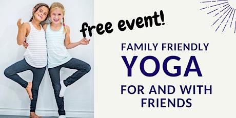 FREE  International Day of Friendship YOGA tickets