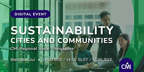 Sustainability - Cities and Communities tickets