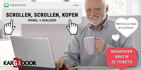 Dialoog: Scrollen, Scrollen en Kopen tickets