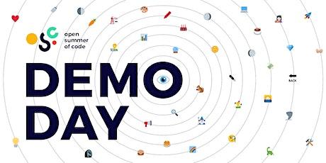 Open summer of code 2021: Demo Day tickets