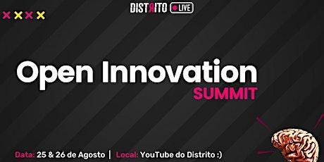 Open Innovation Summit 2021   Distrito ingressos