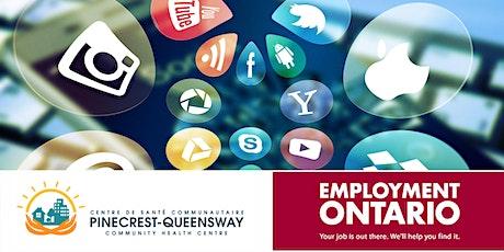 Social Media for Job Seekers tickets