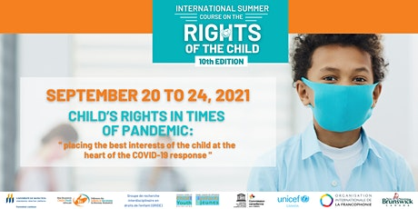 International Summer Course on the Rights of the Child 2021 tickets