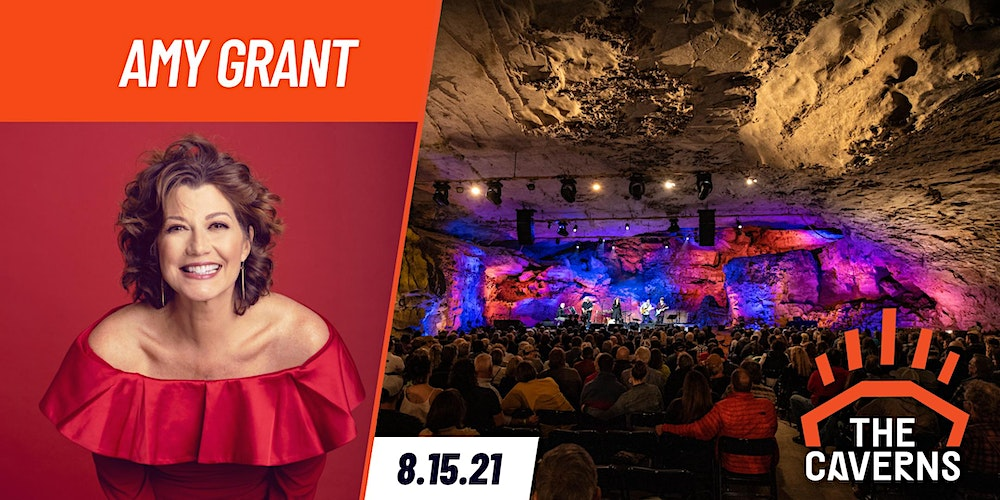 Amy Grant in The Caverns Tickets, Sun, Aug 15, 2021 at 8:00 PM   Eventbrite