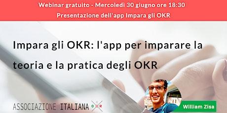 Impara gli OKR: l'app per imparare la teoria e la pratica degli OKR ingressos