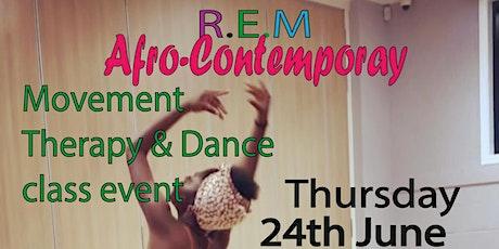 R.E.M Afro-Funk Contemporary flow class tickets