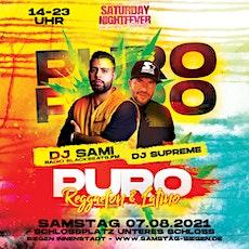 """PURO - Reggaeton & Latino Sounds   """"Schicht 2 - 18-23:00 Uhr"""" Tickets"""