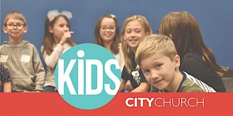 City Church KiDS Pre-Check for Sunday, 6/27 tickets