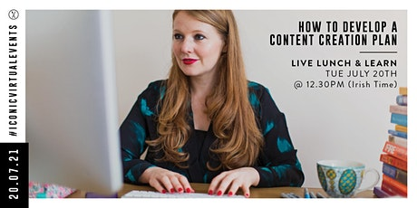 How to Develop a Content Creation Plan with Nicky Raby tickets
