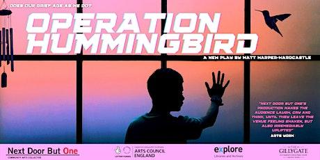 Operation Hummingbird at New Earswick Folk Hall tickets