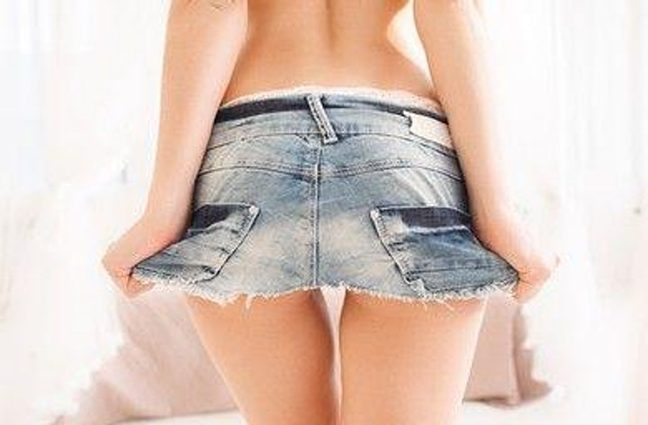Short Skirt No Panties Night at The SPOTT! image