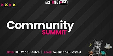 4º COMMUNITY SUMMIT BRASIL 2021 tickets