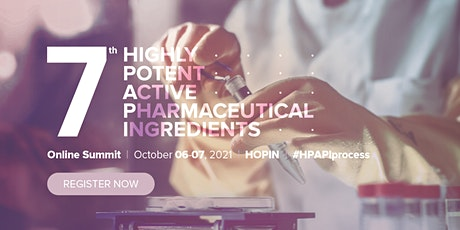 7th Highly Potent Active Pharmaceutical Ingredients Online Summit tickets