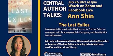 Central Author Talks with Ann Shin tickets