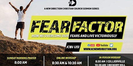 """New D """"Fear Factor"""" Series  Collierville Campus tickets"""