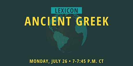 Lexicon: Ancient Greek tickets